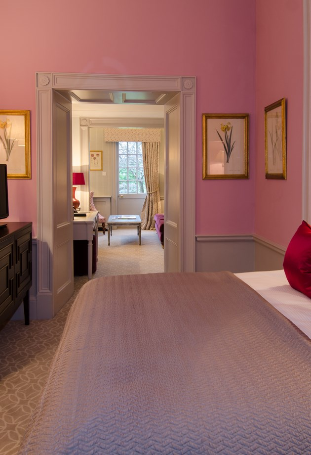 Our Deluxe Rooms are fresh and bright, perfect for a hotel stay in Bath.