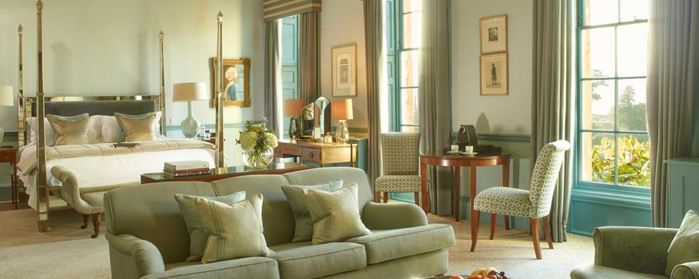 The stunning Duke of York suite at The Royal Crescent Hotel & Spa