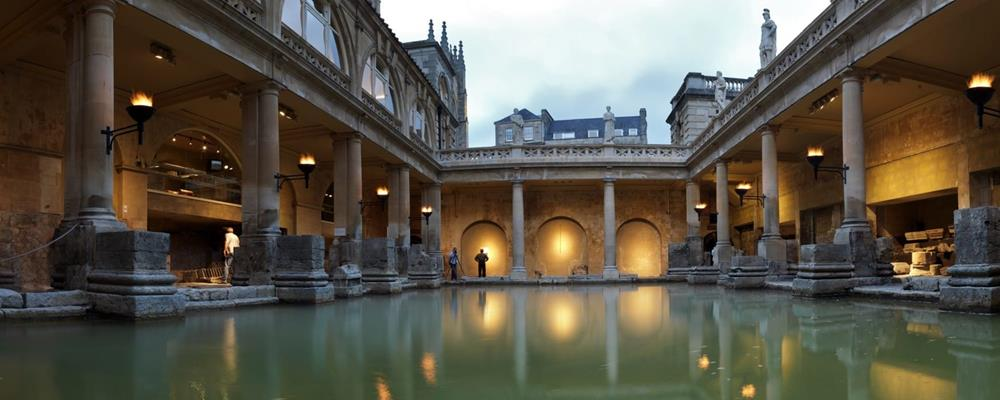 Our incredible Roman Baths are a true marvel in Bath, only available at The Royal Crescent Hotel & Spa.
