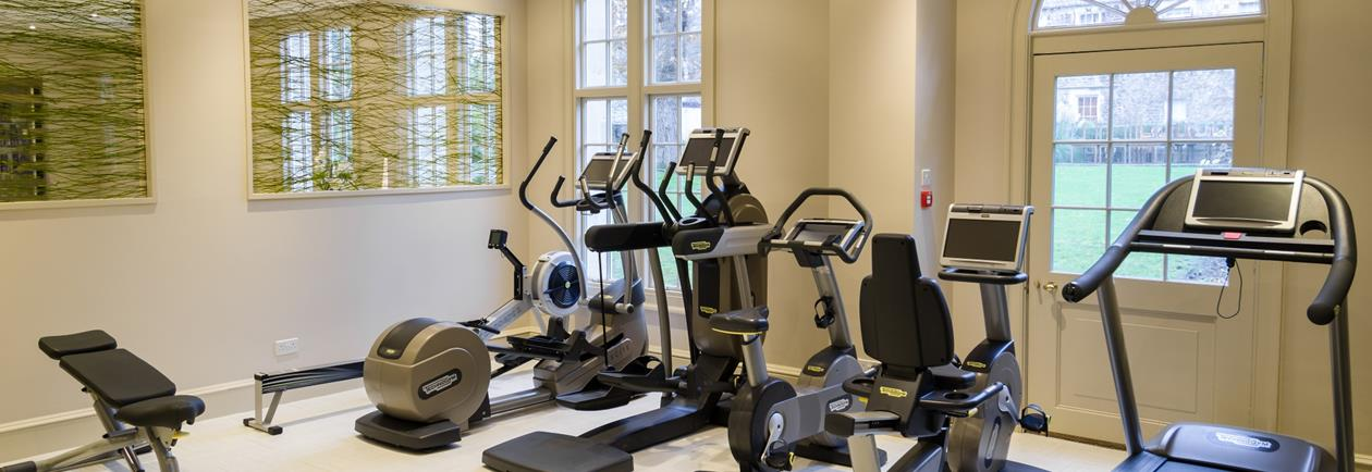 Our Fully Functional Gym in Bath, complete with powerplate technology.