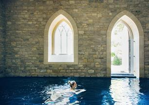 Enjoy a leisurely dip in our 12 metre swimming pool in Bath.