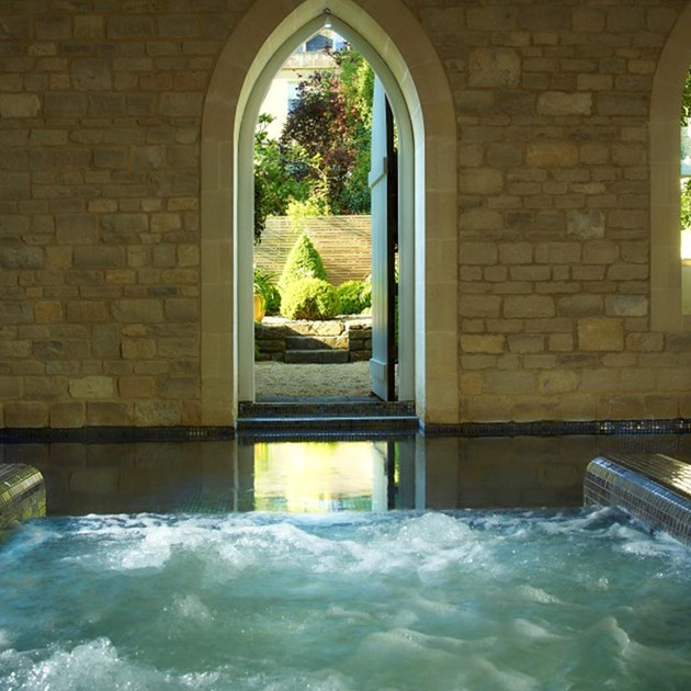 Vitality Pool in Bath, only at The Royal Crescent Hotel & Spa.