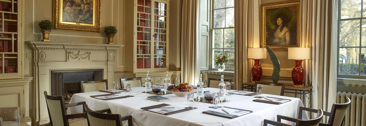 Meeting rooms in Bath available at The Royal Crescent Hotel & Spa.