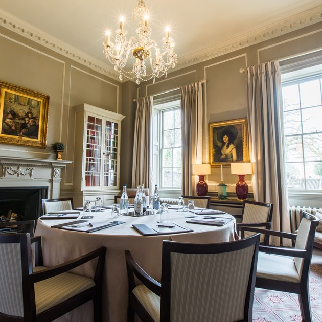 The Library meeting room at The Royal Crescent Hotel & Spa