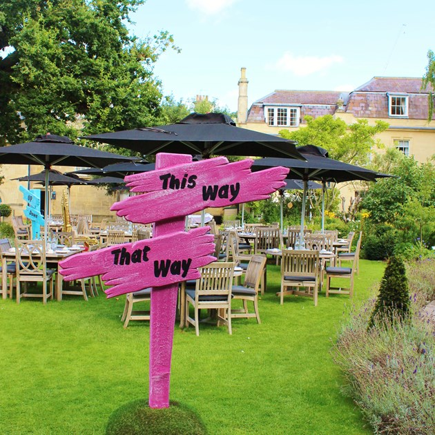Our stunning event garden in Bath is available for exclusive use hire.
