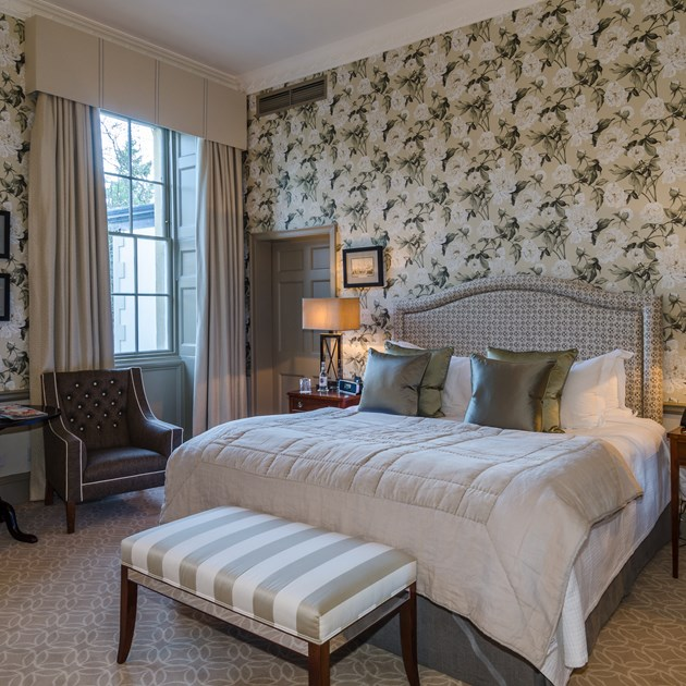 Find character and style in a Deluxe room at our 5 star hotel.