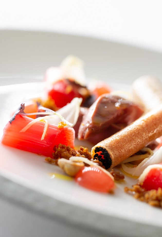 Delectable desserts are available from our award winning restaurant in Bath.